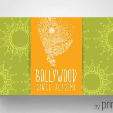 Επαγγελματική κάρτα για χορούς οριεντάλ