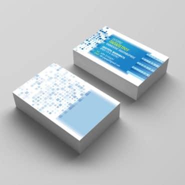 Επαγγελματική κάρτα καθηγητού πληροφορικής
