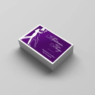 Επαγγελματική κάρτα για τανγκο