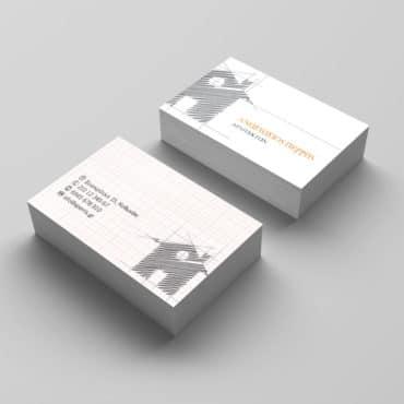 Επαγγελματική κάρτα για αρχιτέκτονες