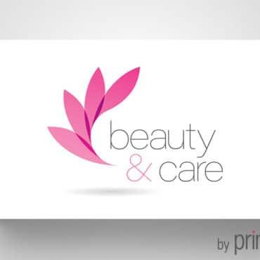 Επαγγελματική κάρτα για κέντρο ομορφιάς