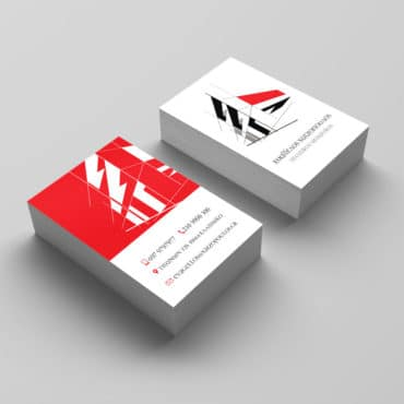 Επαγγελματική κάρτα για Πολιτικό Μηχανικό