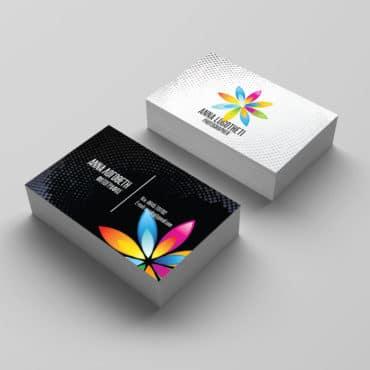 Επαγγελματική κάρτα φωτογράφου μόδας