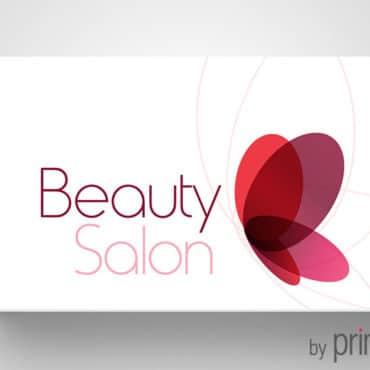 Επαγγελματική κάρτα συμβούλου ομορφιάς