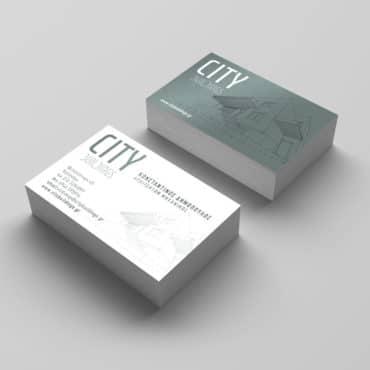 Επαγγελματική κάρτα για αρχιτέκτονα