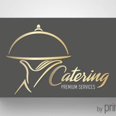Επαγγελματική κάρτα για catering