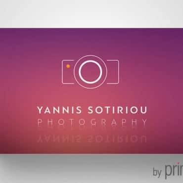 Επαγγελματική κάρτα για φωτογράφο