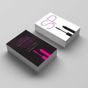 Επαγγελματική κάρτα makeup