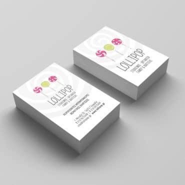 Επαγγελματική κάρτα για είδη γάμου βάπτισης