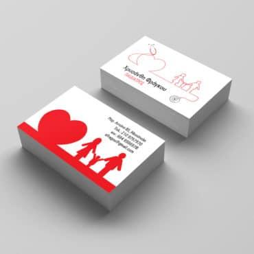 Επαγγελματική κάρτα Ιατρείου παιδιών