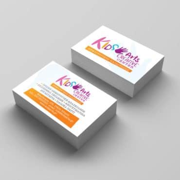 Επαγγελματική κάρτα για δημιουργικό παιδότοπο