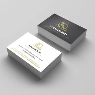 Επαγγελματική κάρτα για μασάζ