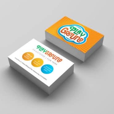 Επαγγελματική κάρτα για παιδικό fun park