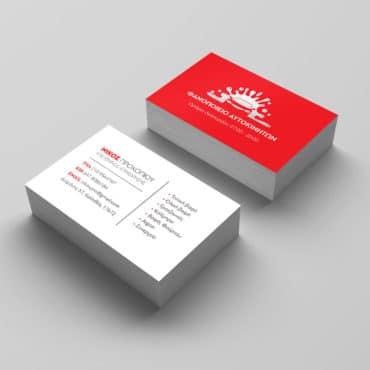 Επαγγελματική κάρτα για φανοποιό