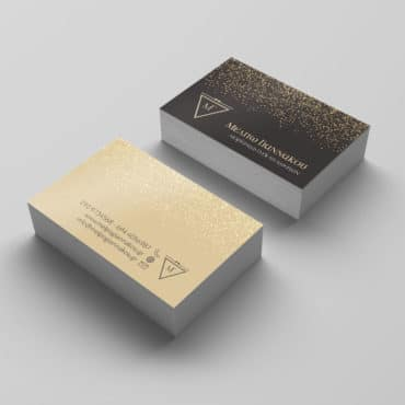 Επαγγελματική κάρτα για διοργανωτές εκδηλώσεων