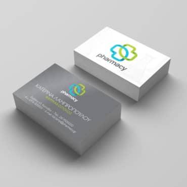Επαγγελματική κάρτα για φαρμακείο