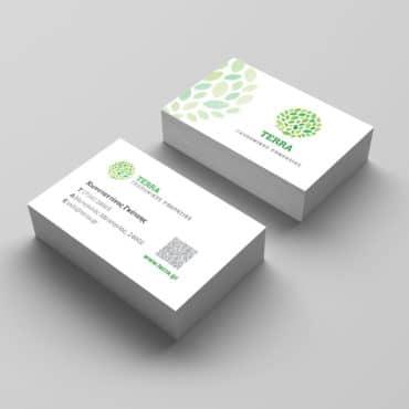 Επαγγελματική κάρτα για γεωπόνο