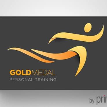 Επαγγελματική κάρτα για γυμναστές