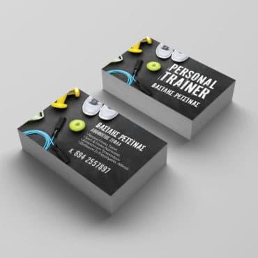 Επαγγελματική κάρτα personal trainer